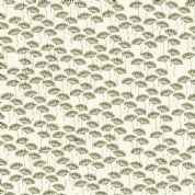 Inprint Town & Country - 3702 - Seed Heads - White - 7897 Q30 - Cotton Fabric